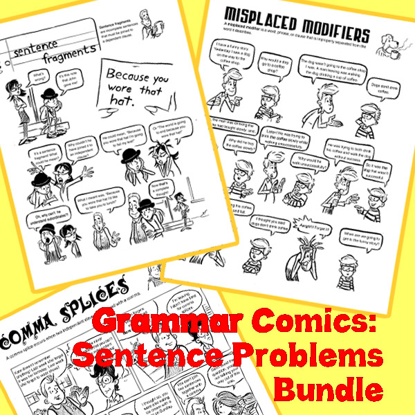 grammar comics bundle preview
