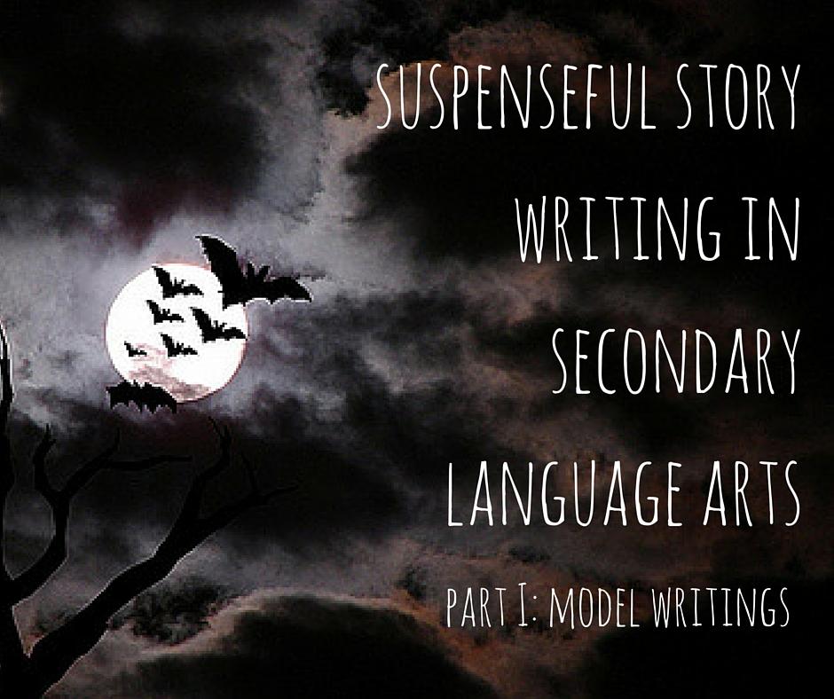 suspenseful story writing